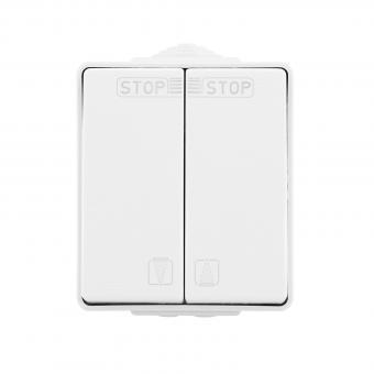 Efapel 48290 CBR Rollladenschalter Wipp AP IP65
