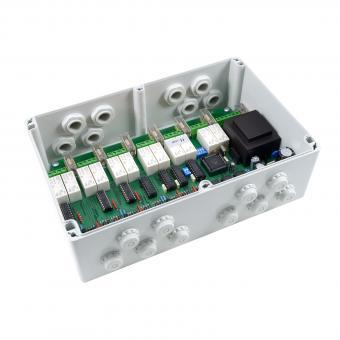 Motorsteuergerät MSE026 Zeitlogik für bis zu 6 Motoren