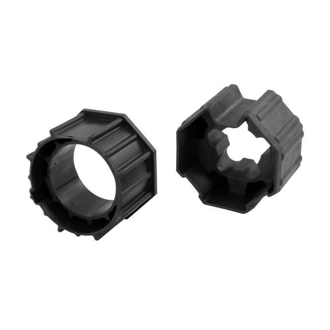 Adaptersatz 70mm 8kant für elektronische Rolladenmotoren